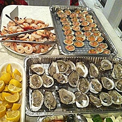 Caterting Raw Bar